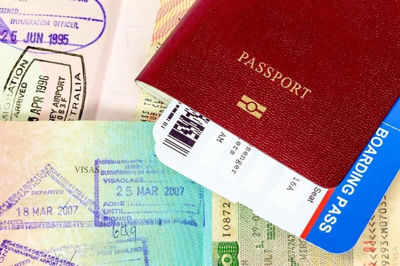 Passaporto -Visto Per Dubai