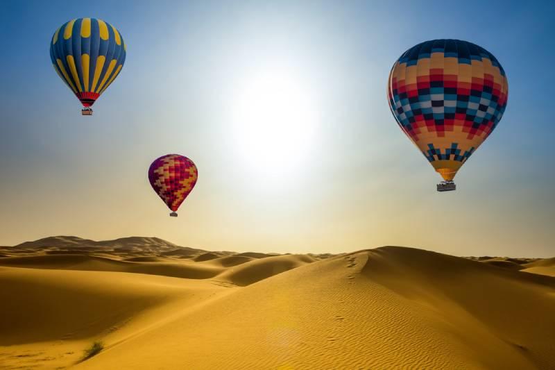 Hot air baloon - Viaggio di Nozze a Dubai