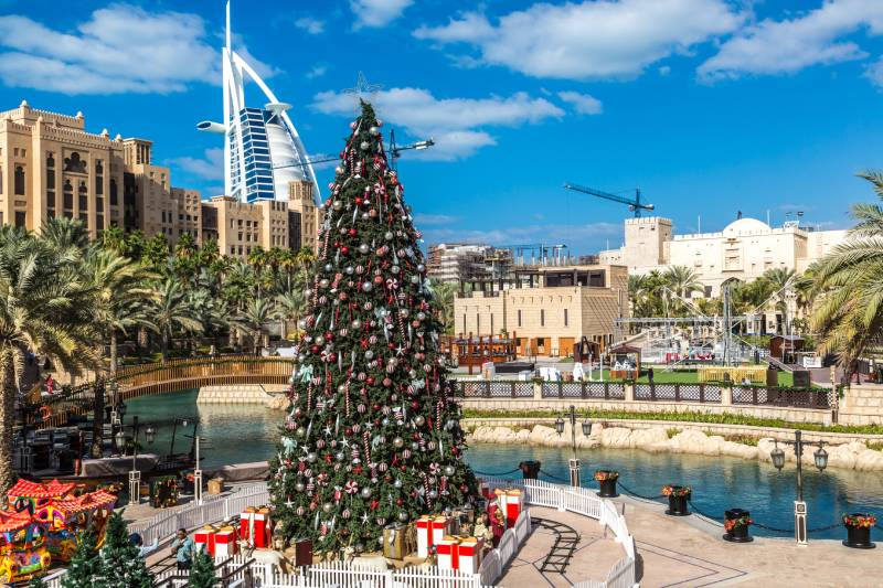 Albero di Natale - Capodanno a Dubai -Natale a Dubai