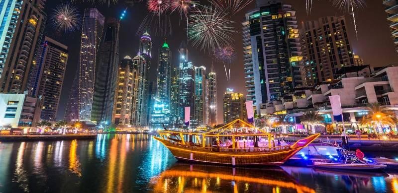 Dubai di notte - Capodanno a Dubai