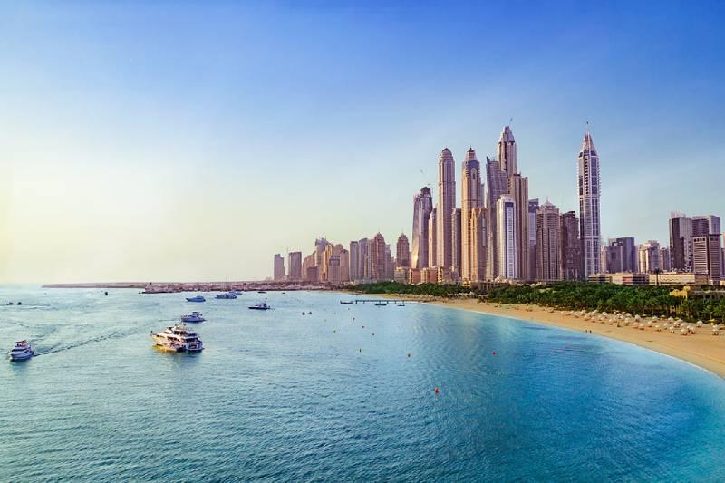 spiaggia di jumeirah - Dubai in Estate