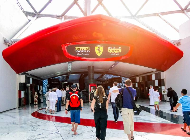 Ferrari world - cose da fare a Dubai