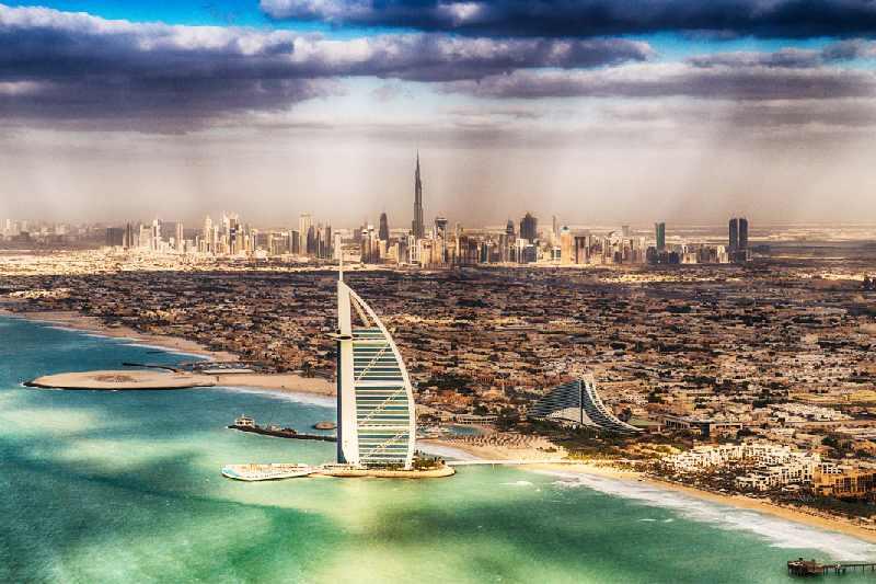 Burj El Arab - città di dubai