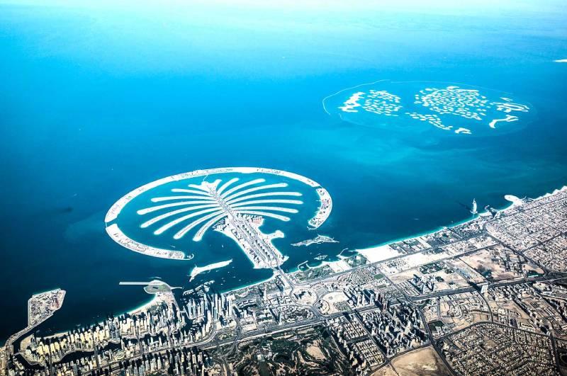 Isola di palm jumeirah